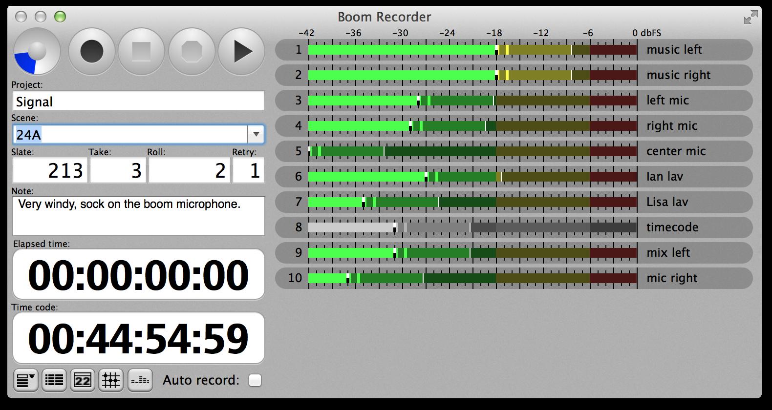 Pokitec - Boom Recorder